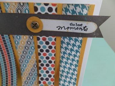 Tarjeta Best moments. Tutorial