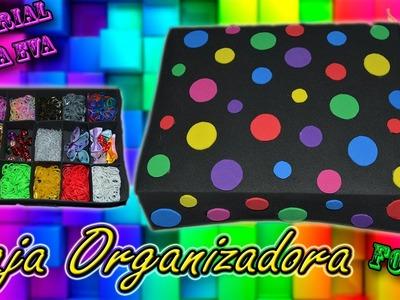♥ Tutorial: Caja organizadora de Goma Eva (Foamy) ♥