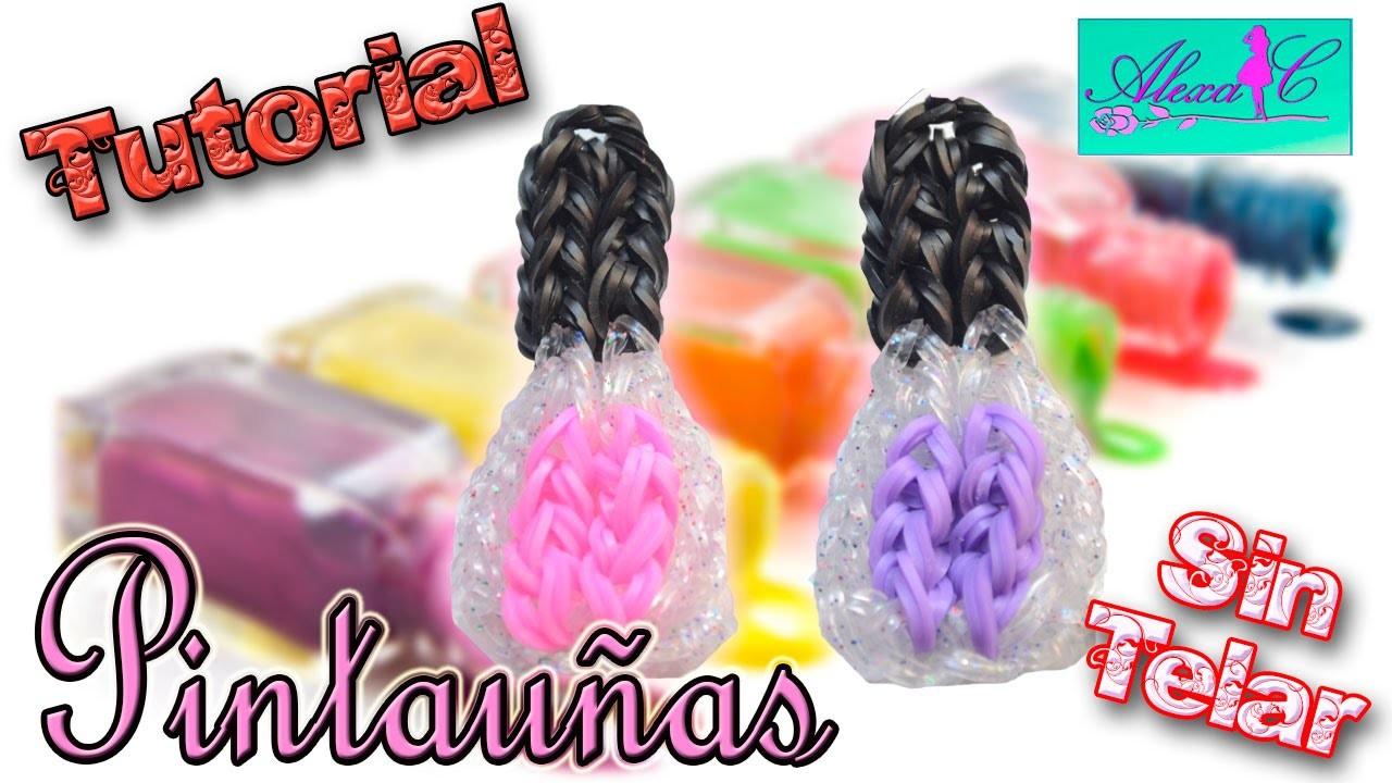 ♥ Tutorial: Pintauñas o Esmalte de gomitas (sin telar) ♥
