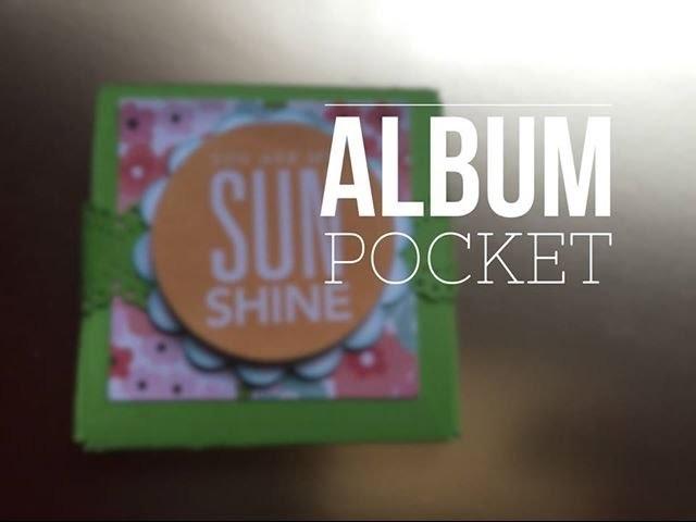 Tutorial SCRAP de Bolsillo para Mamá.Mother's Day Pocket Mini Album