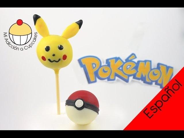 ¡Haz Paletas de Torta de Pikachu de Pokemon! Un Tutorial Práctico de Cupcake Addiction