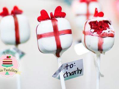 ¡RED VELVET CAKE POPS! | FÁCIL