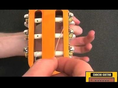 Cómo cambiar las cuerdas a tu guitarra clásica española - Guitarra indie para principiantes