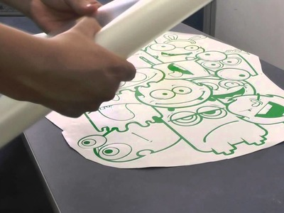 Como decorar una pared con vinilo . How to decorate with vinyl cutting plotter