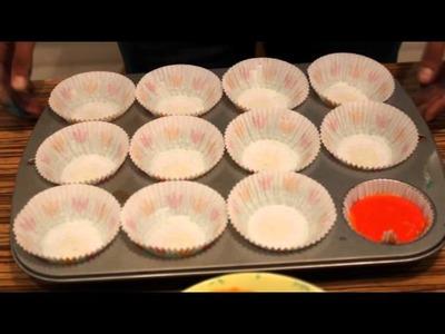 ¿como Hacer Cupcakes De Arcoiris?