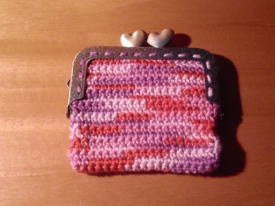 Como hacer paso a paso un Monedero con boquilla cuadrada a ganchillo o crochet