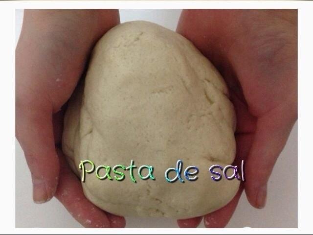Como hacer pasta de sal casera  facil.easy paste salt