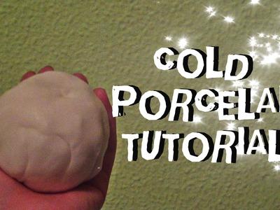 ¿Como hacer porcelana fría? (CASERA Y FACIL). COLD PORCELAIN TUTORIAL
