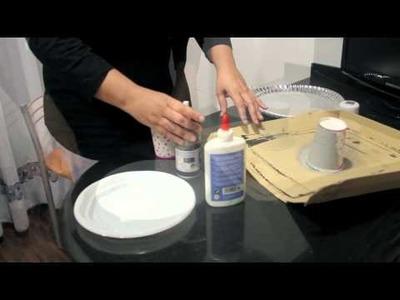 Como hacer un expositor de cupcakes rápido y fácil (DIY)