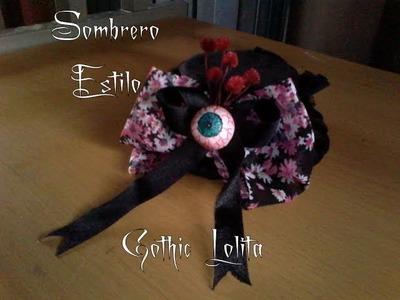 ¿Como hacer un Sombrero Gothic Lolita? - Scarlet Bloody Tutoriales