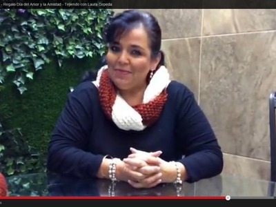 Cuello y Turbante Tejido - Regalo Día del Amor y la Amistad - Tejiendo con Laura Cepeda