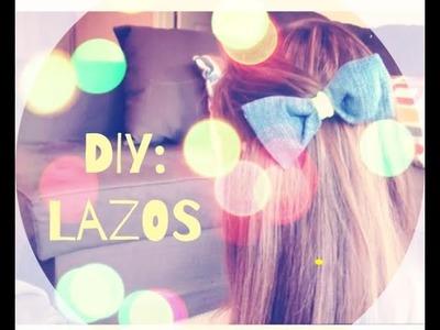 DIY: Como hacer lazos para el cabello sin coser (facil, rapido y hermoso)