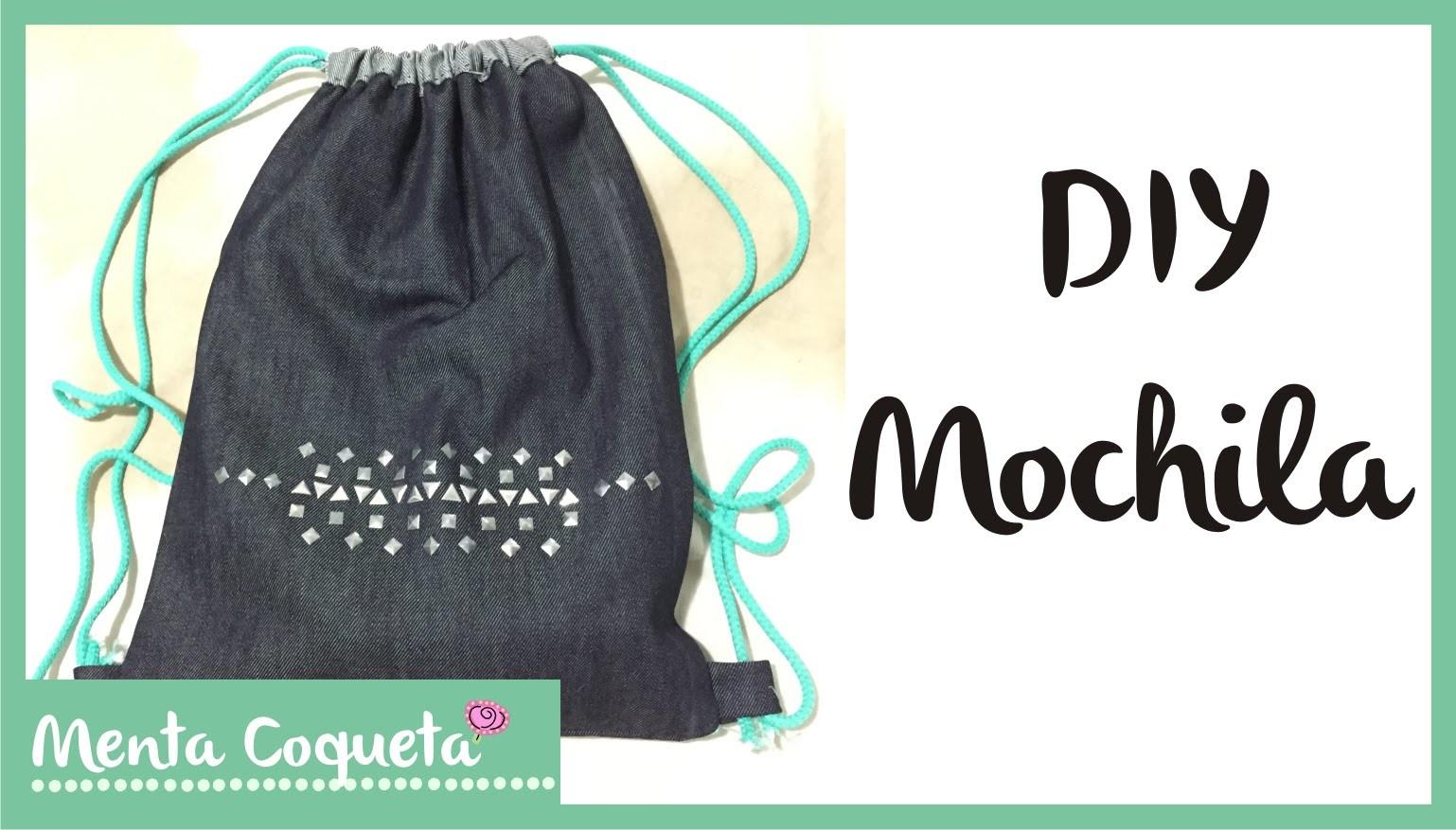DIY - Como hacer una mochila :)