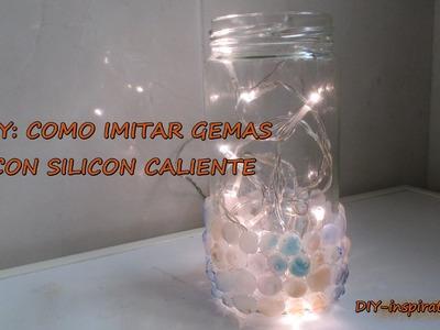 DIY COMO IMITAR GEMAS CON SILICONA CALIENTE