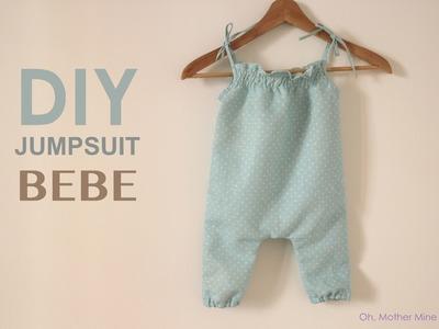 DIY Jumpsuit para bebe (patrones gratis)