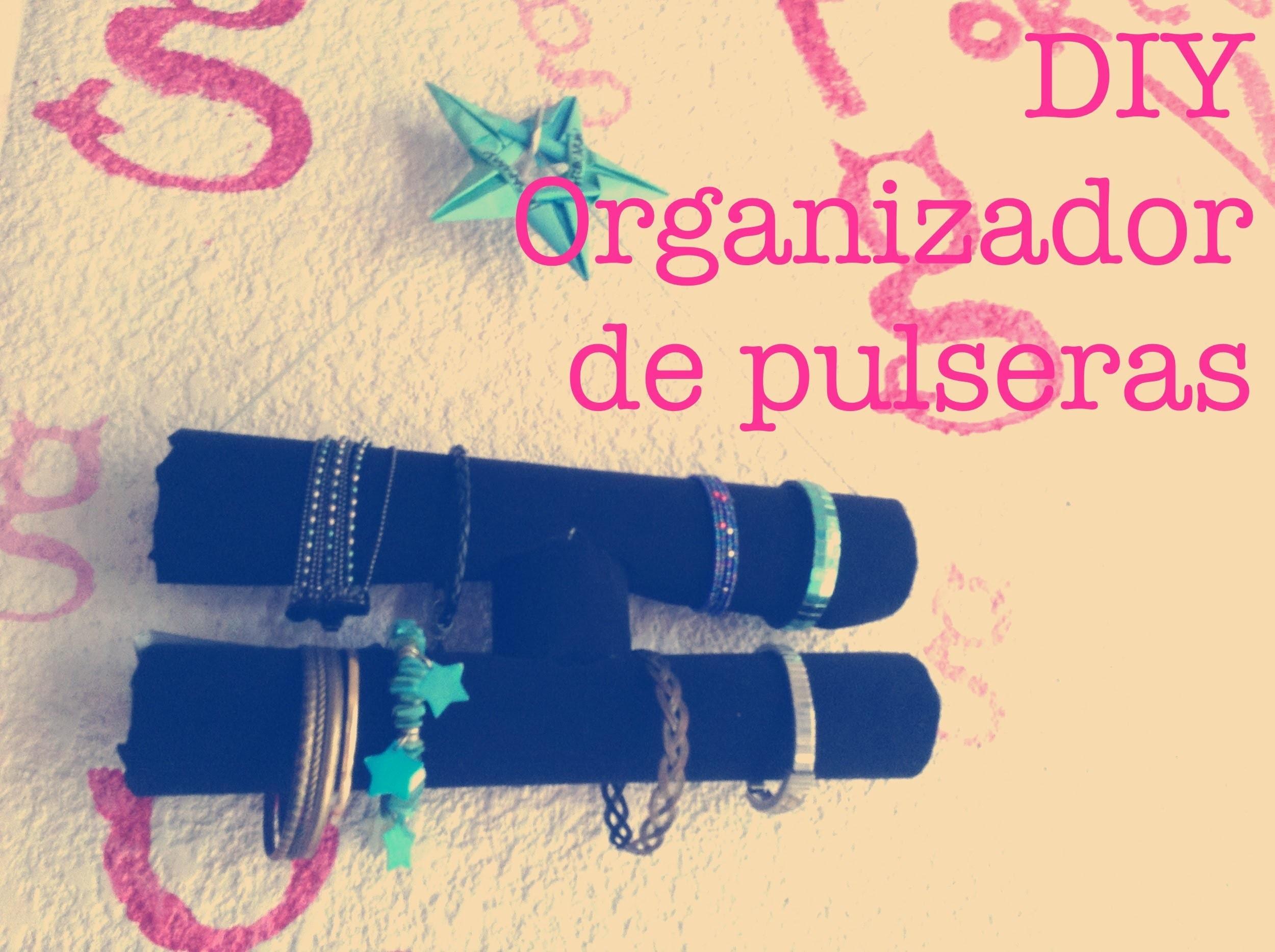 DIY Organizador de pulseras. Bracelet Organizer