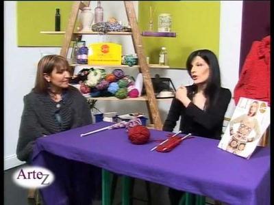 El arte de tejer una capa con ojales