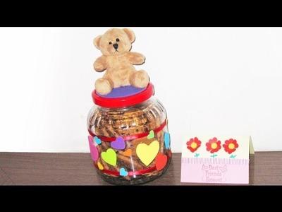 Episodio 547- Cómo hacer un tarro de galletas para regalar lindo y reciclado