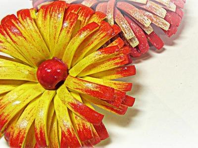 Flores de goma eva channel
