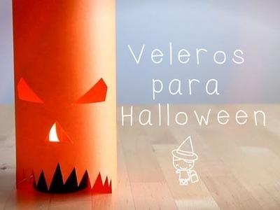 Manualidad de Halloween: Cómo hacer un portavelas