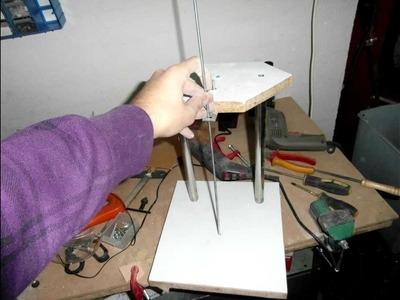 Maquina de cortar porexpan (corcho blanco) casera - DIY - Invento casero