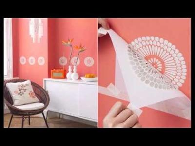 Papel o pintura para decorar las paredes de casa SI
