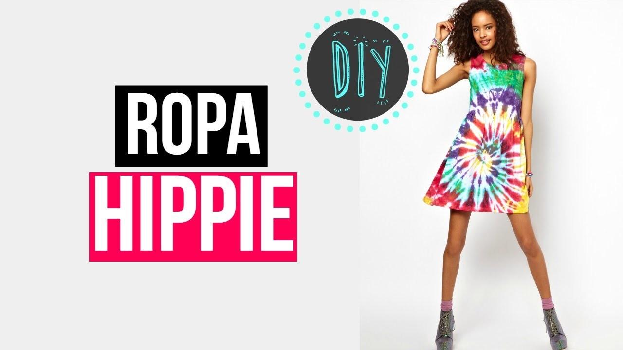 Tie Dye. Haz tu propia ropa Hippie ♥ Santa♥