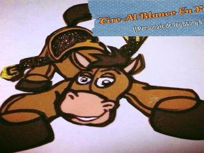 Tiro Al Blanco En Foami (( Personaje De Toy Story 6 -- 8 ))