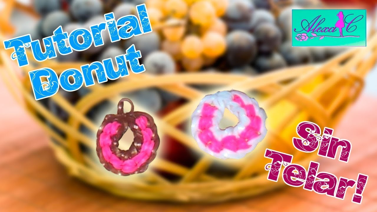 ♥ Tutorial: Donut de gomitas (sin telar) ♥