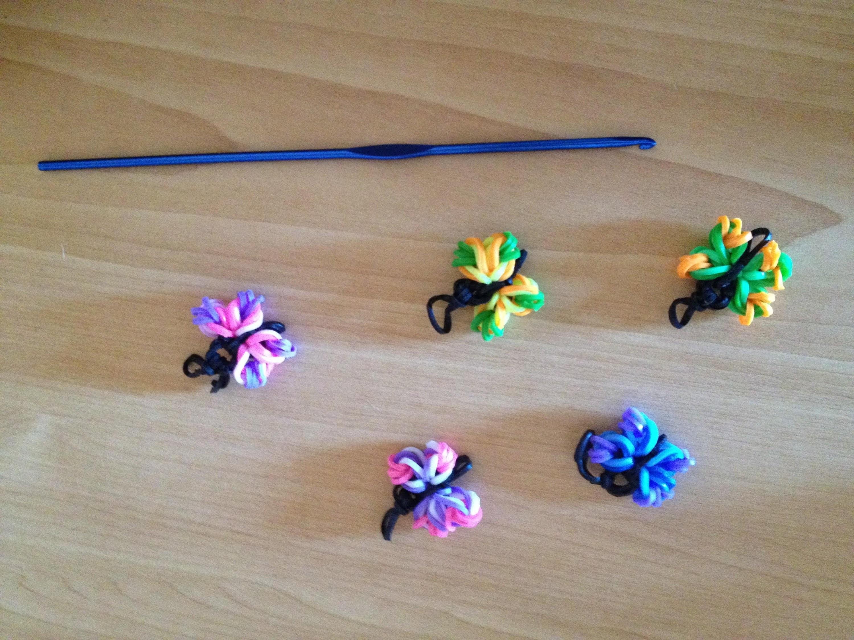 Tutorial Mariposas con gomitas en español paso a paso