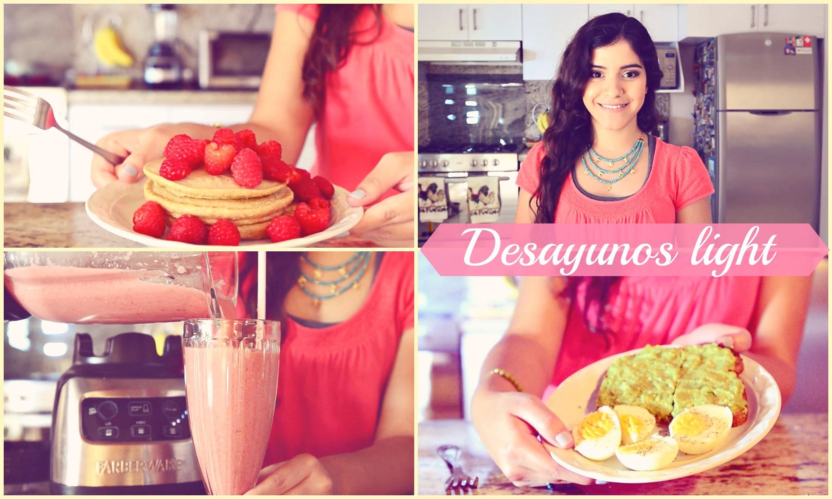 3 ideas saludables, fáciles y deliciosas para desayunar