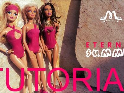 3. Tutorial Colección Eternal Summer (Hacer traje de baño. Swimwear para Barbie)