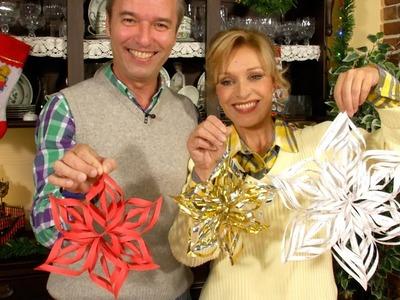 Adornos de Papel para Navidad Copo de Nieve Snowflake