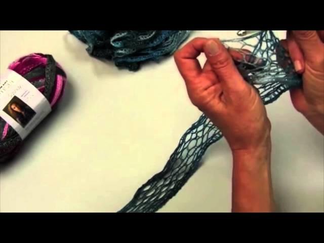 Aprender a hacer ganchillo con Sashay™ hilos de Red Heart®