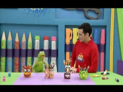 Art Attack Creando un Portalápiz con Kermit - Fan Club Oficial de Disney Channel