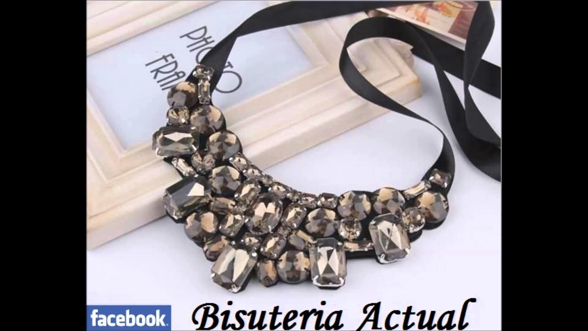 Bisuteria Actual collares colgantes necklace collana collier babero maxi bib