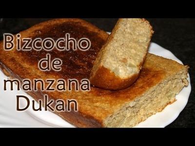 Bizcocho de manzana Dukan - Dukan Apple Cake - Receta Fase Ataque