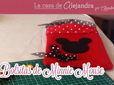 Bolsitas de Minnie Mouse
