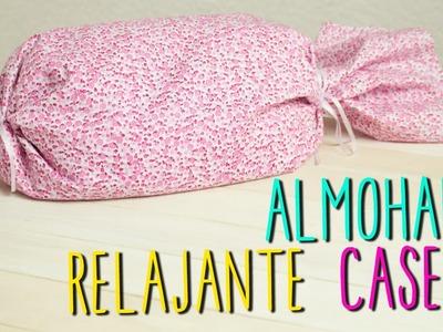 Cómo hacer Almohada Decorativa Relajante - De lavanda y Manzanilla - DIY Fácil