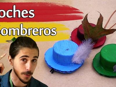 Cómo hacer Broches de Sombreros