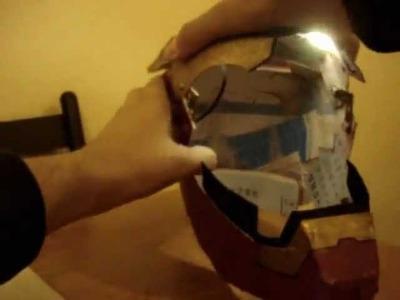 Como hacer el casco de iron man fácil y barato - Tutorial en Español