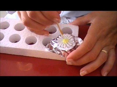 Como hacer Flores de Glase