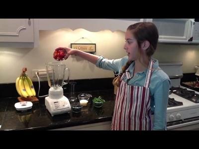 Como Hacer un Batido de Frutas