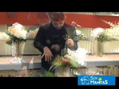 Cómo hacer un centro floral muy barato