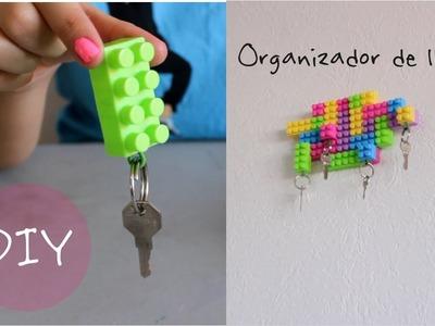 Cómo hacer un llavero usando figuras Lego. Accesorios - Hablobajito