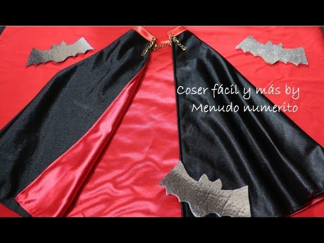 Cómo hacer una capa de vampiro para disfraz de Halloween