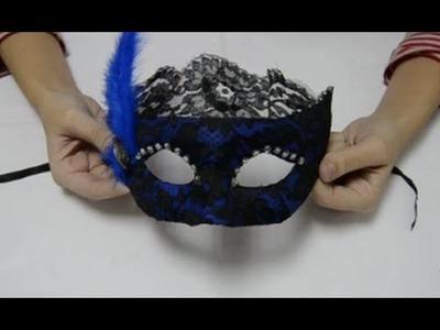 Cómo hacer una máscara veneciana | facilisimo.com