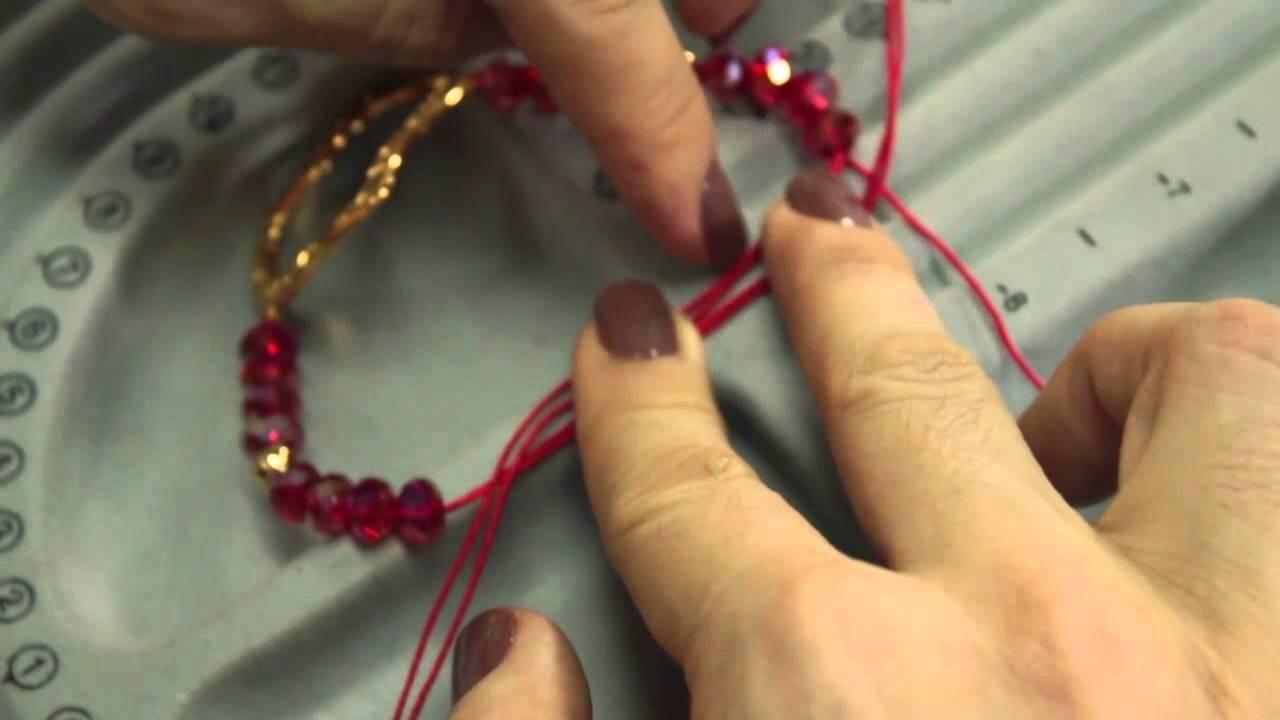 Como hacer una pulsera murano corazon love episodio 18. Kit 23336