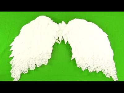 Cómo hacer unas alas de ángel paso a paso