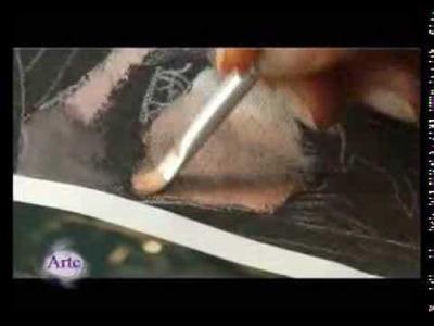 Cómo pintar un rostro en acrílico